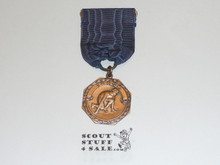 Bronze Boy Scout Track Contest Medal