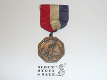 Boy Scout Bronze Signaling Contest Medal