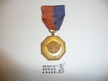 Gold Explorer Scout Contest Medal, CAW Design