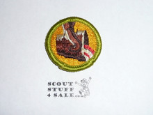 Metalurgy - Type H - Fully Embroidered Plastic Back Merit Badge (1971-2002)