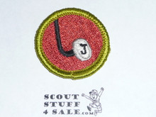 Journalism - Type G - Fully Embroidered Cloth Back Merit Badge (1961-1971)