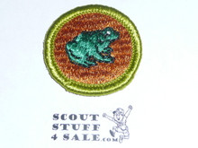 Zoology - Type G - Fully Embroidered Cloth Back Merit Badge (1961-1971)
