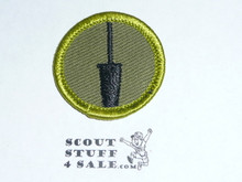 Dairying - Type F - Rolled Edge Twill Merit Badge (1961-1968)