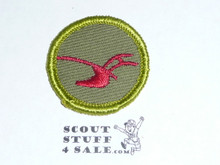 Agriculture - Type F - Rolled Edge Twill Merit Badge (1961-1968)