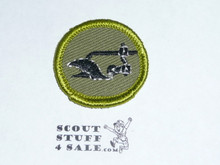 Farm Mechanics - Type F - Rolled Edge Twill Merit Badge (1961-1968)