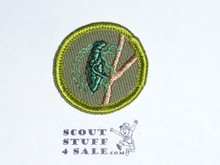 Insect Life - Type F - Rolled Edge Twill Merit Badge (1961-1968)