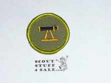 Surveying - Type F - Rolled Edge Twill Merit Badge (1961-1968)