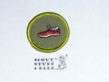 Leatherwork - Type F - Rolled Edge Twill Merit Badge (1961-1968)