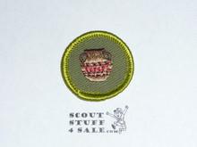Pottery - Type F - Rolled Edge Twill Merit Badge (1961-1968)