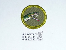 Reptile Study - Type F - Rolled Edge Twill Merit Badge (1961-1968)