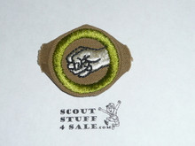 Physical Development - Type D - Fine Twill Merit Badge (1942-1946)