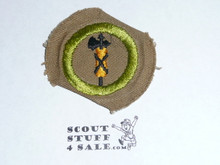 Civics - Type D - Fine Twill Merit Badge (1942-1946)