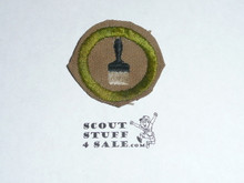 Painting - Type D - Fine Twill Merit Badge (1942-1946)