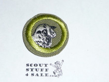 Sheep Farming - Type E - Khaki Crimped Merit Badge (1947-1960)