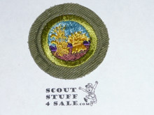 Small Grains and Cereal Foods - Type E - Khaki Crimped Merit Badge (1947-1960)