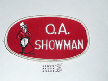 1964 National Jamboree O.A. SHOWMAN Armband