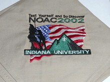 National Order of the Arrow Conference (NOAC), 2002 Embroidered Neckerchief