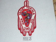 Order of the Arrow Lodge #225 Tamet 1966 Tokala Patch