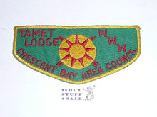 Order of the Arrow Lodge #225 Tamet f1 First Flap Patch
