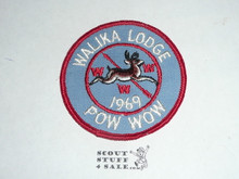 Order of the Arrow Lodge #228 Walika 1969 Pow Wow Patch