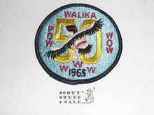 Order of the Arrow Lodge #228 Walika 1965 Pow Wow Patch