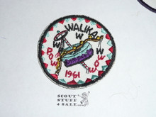 Order of the Arrow Lodge #228 Walika 1961 Pow Wow Patch