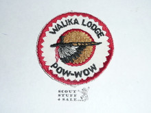 Order of the Arrow Lodge #228 Walika 1958 Pow Wow Patch