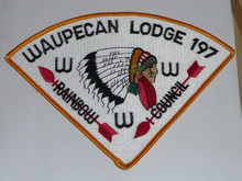 Order of the Arrow Lodge #197 Waupecan P4 Neckerchief Patch