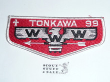 Order of the Arrow Lodge #99 Tonkawa Flap Patch from the Last Ten Years