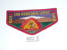 Order of the Arrow Lodge #298 San Gorgonio s8 Flap Patch