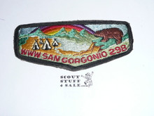 Order of the Arrow Lodge #298 San Gorgonio s6 Flap Patch, lt use