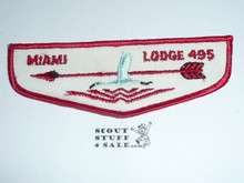 Order of the Arrow Lodge #495 Miami zf1 Flap Patch