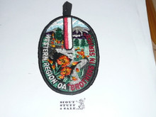 "Western Region Order of the Arrow ""Brothers in Service"" Patch"