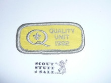 Quality Unit Patch, 1992