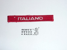 Interpreter Strip - Italian