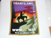 Section W3A 1994 Conference Jacket Patch
