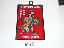 Section W3A 1997 Pow Wow Patch