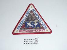 2010 National Jamboree Triangle Patch