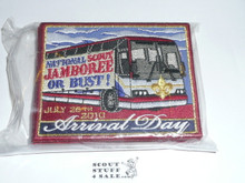 2010 National Jamboree Complete set of Patch of the Day Patches