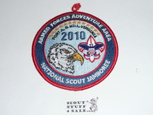 2010 National Jamboree Armed Forces Patch