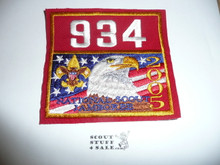 2005 National Jamboree Troop 934 Unit Number, Western Los Angeles County Council Troop