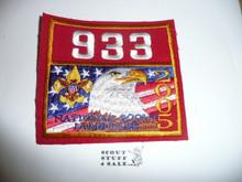 2005 National Jamboree Troop 933 Unit Number, Western Los Angeles County Council Troop