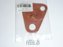 2005 National Jamboree Leather Neckerchief Slide