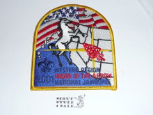2001 National Jamboree Western Region Order of the Arrow Patch