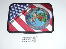 2001 National Jamboree Western Region Patch