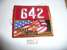 2001 National Jamboree Troop 642 Unit Number, Western Los Angeles County Council Troop
