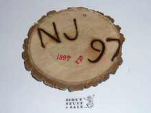 1997 National Jamboree Philmont Branded Wood Chip