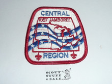 1997 National Jamboree Central Region Patch