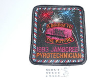 1993 National Jamboree Pyrotechnician Patch