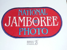 1993 National Jamboree Photographer Armband, no elastic band